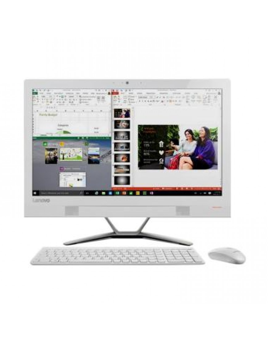 Hp Pc All In One 20 R124d Intel Core I5 4460 4gb Ram 19 45 Windows Lenovo Aio 510 22ish 0fid White 500gb 10 Desktop